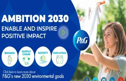 Procter & Gamble announces new 'Ambition 2030' sustainability goals