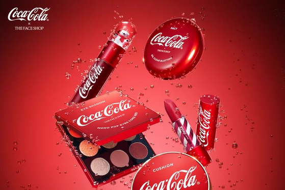 The Face Shop launches coke-scented make-up in Coca Cola collab