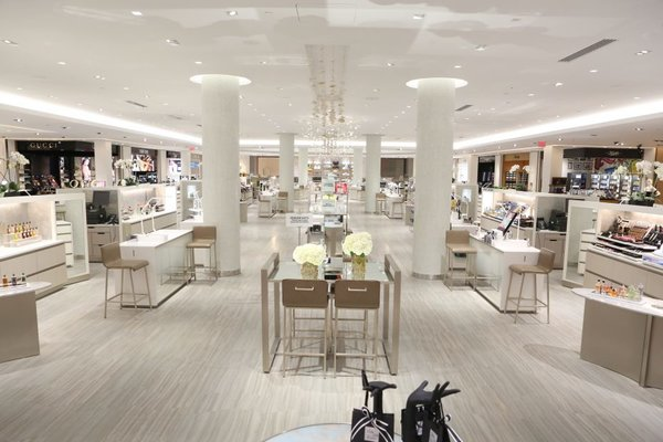 5f0d63c00e1 Saks Fifth Avenue unveils new beauty floor in New York store ...