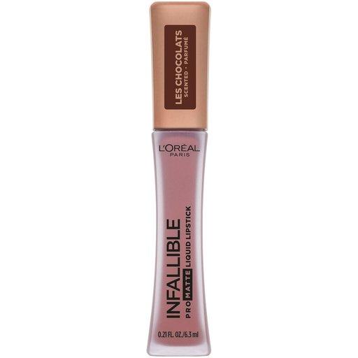 L'Oréal Paris INFALLIBLE® Pro Matte Les Chocolats Scented Liquid Lipstick