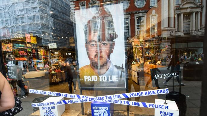 Lush removes window displays after backlash over controversial 'anti-spy cops' campaign