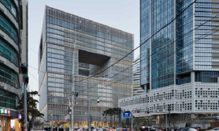 AmorePacific marks completion of new 'social' HQ