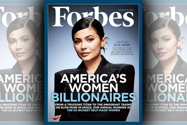 Kylie Jenner graces cover of Forbes as the soon-to-be youngest US self-made billionaire
