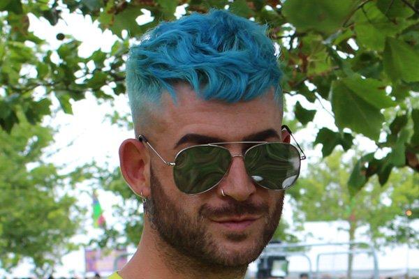 CONSUMER TREND   BLUE vs PURPLE  HAIR    FESTIVAL SEASON 2018