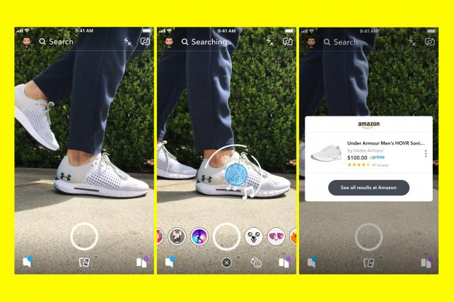Snapchat partners with Amazon for launch of innovative shopping feature