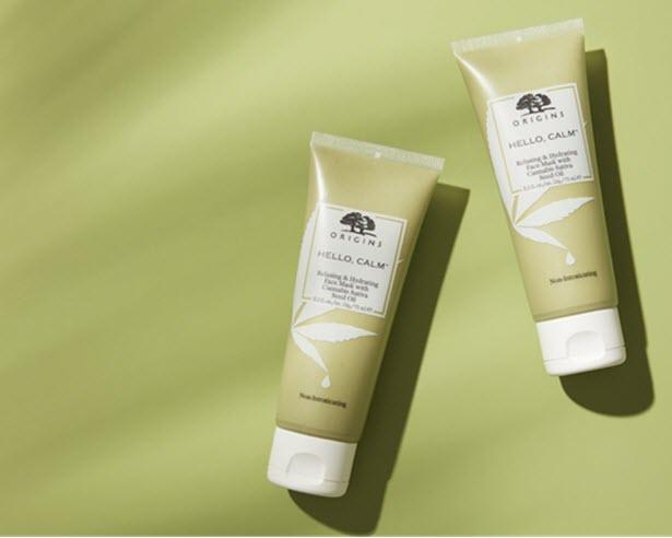 Estée Lauder Companies enters cannabis skincare market with Origins mask
