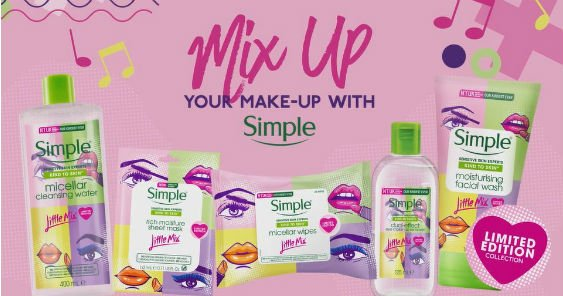 Simple x Little Mix Skin Care Collection