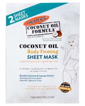 Palmer's Coconut Oil Body Firming Sheet Mask