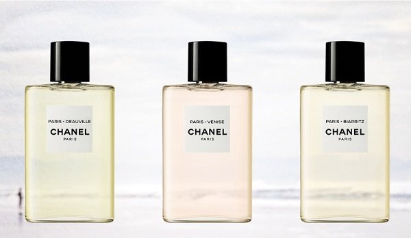 Chanel extends Eaux de Chanel range with shower and body care products