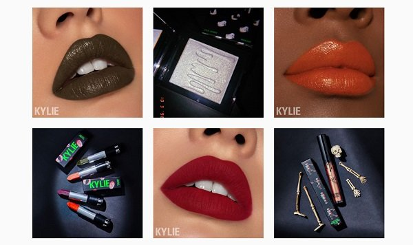 MAC has the most followers but Kylie Cosmetics is the fastest growing beauty brand on Instagram