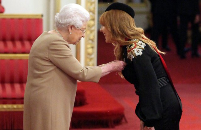 Charlotte Tilbury receives MBE for services to the beauty and cosmetics industry