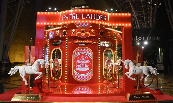 Walking in an Estee Wonderland: Lauder customers can create their own avatar at Hong Kong pop-up