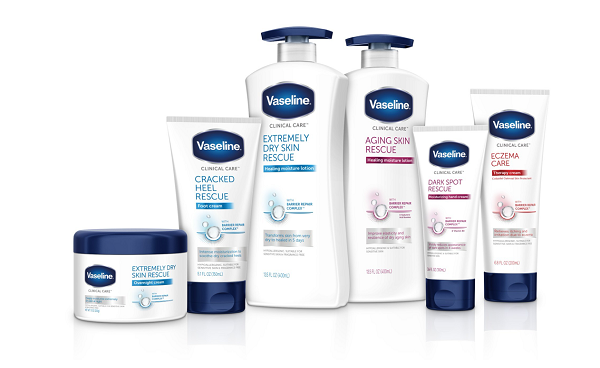 Vaseline debuts new dry skin line, Clinical Care, on national tour