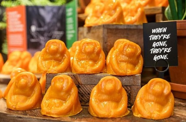 When they're gone, they're gone: Lush takes up palm oil baton with limited edition soap