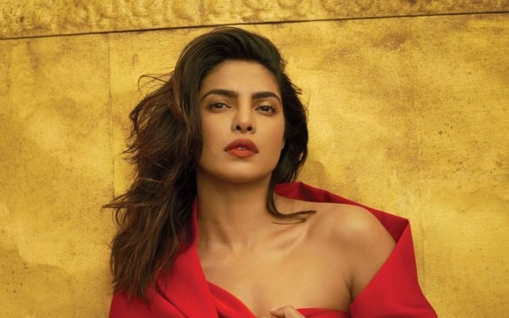 Priyanka Chopra becomes first Indian-born cover star for Vogue US