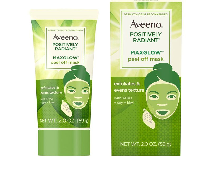 AVEENO®POSITIVELY RADIANT®MAXGLOW™ Peel Off Mask