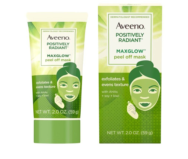 AVEENO® POSITIVELY RADIANT® MAXGLOW™ Peel Off Mask