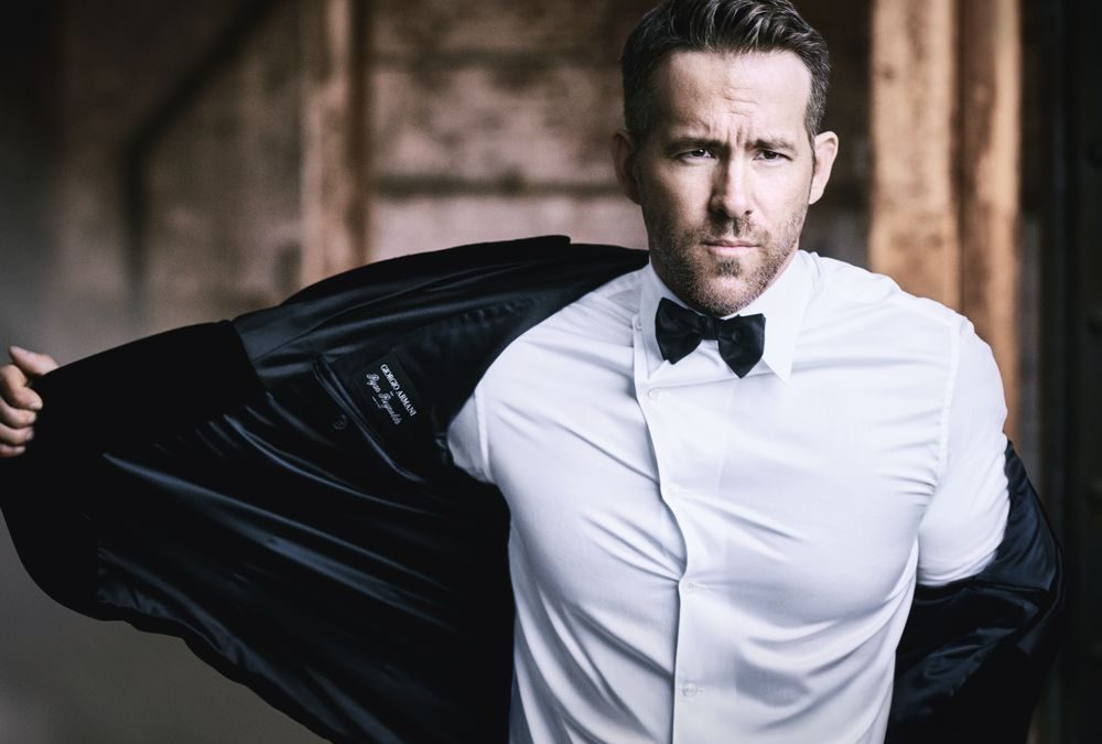 Ryan Reynolds named new face of Armani Code fragrance