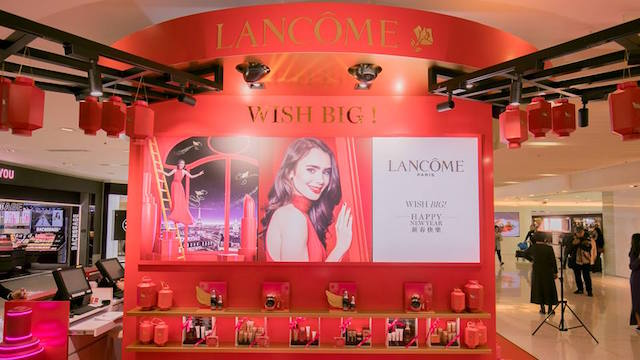 Lancôme teams with Alibaba Cloud to launch AR game for Chinese New Year