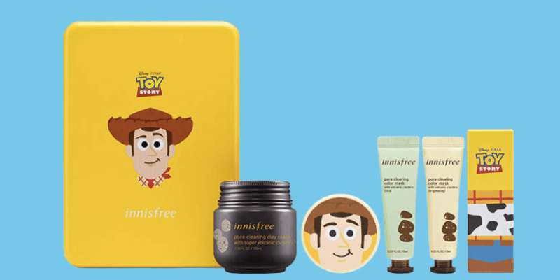 Innisfree launches limited edition Toy Story collection