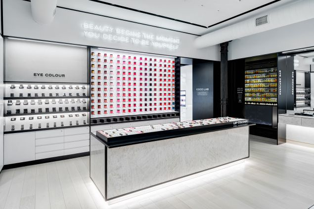 New Soho-based Atelier Beauté Chanel offers experimental, Instagram-worthy experience