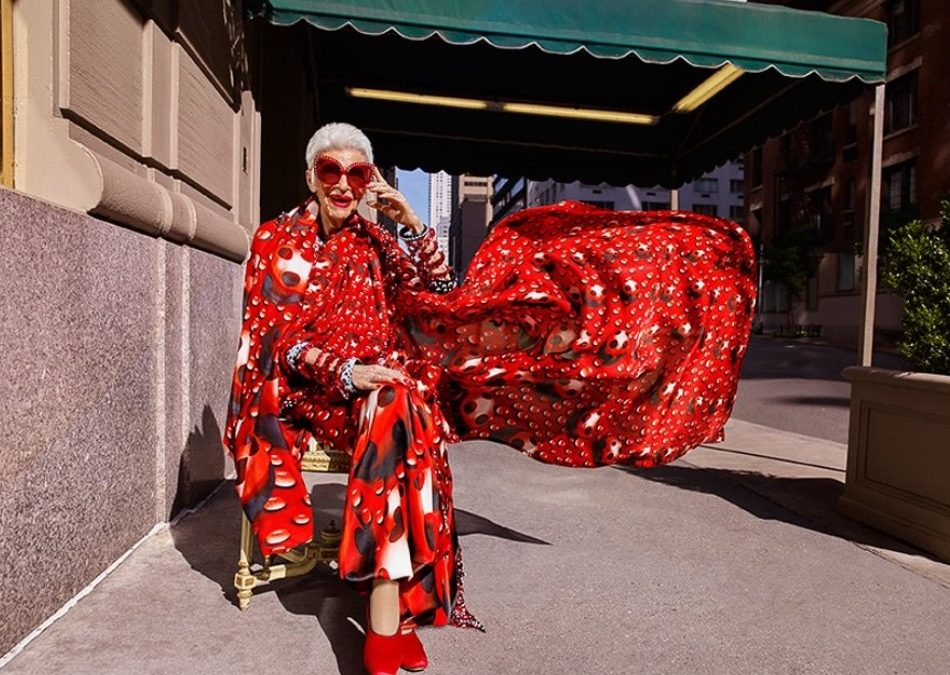 Iris Apfel signs major modelling contract, aged 97