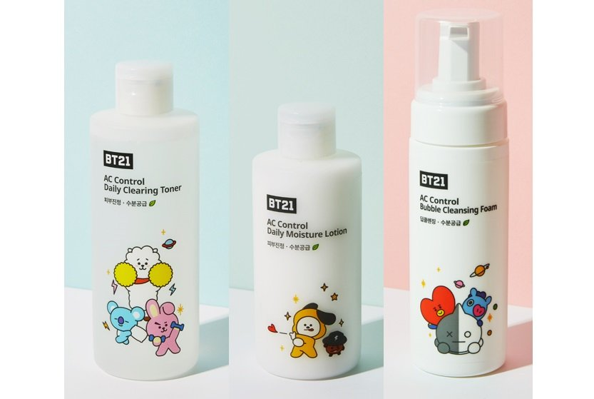 K-pop band BTS launches skin care line for acne-prone skin