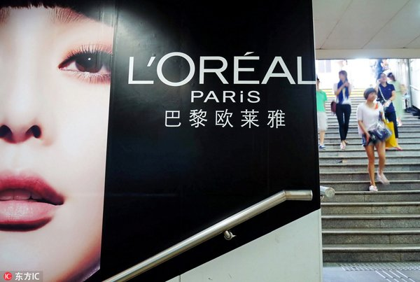 L'Oréal reports 33 percent growth in China, achieving 14-year record high