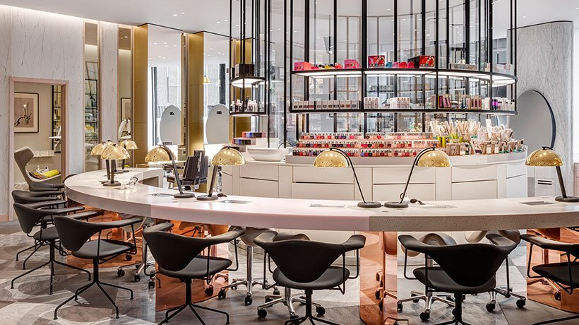 Chanel commandeers Harvey Nichols beauty lounge for new lipstick-themed pop-up