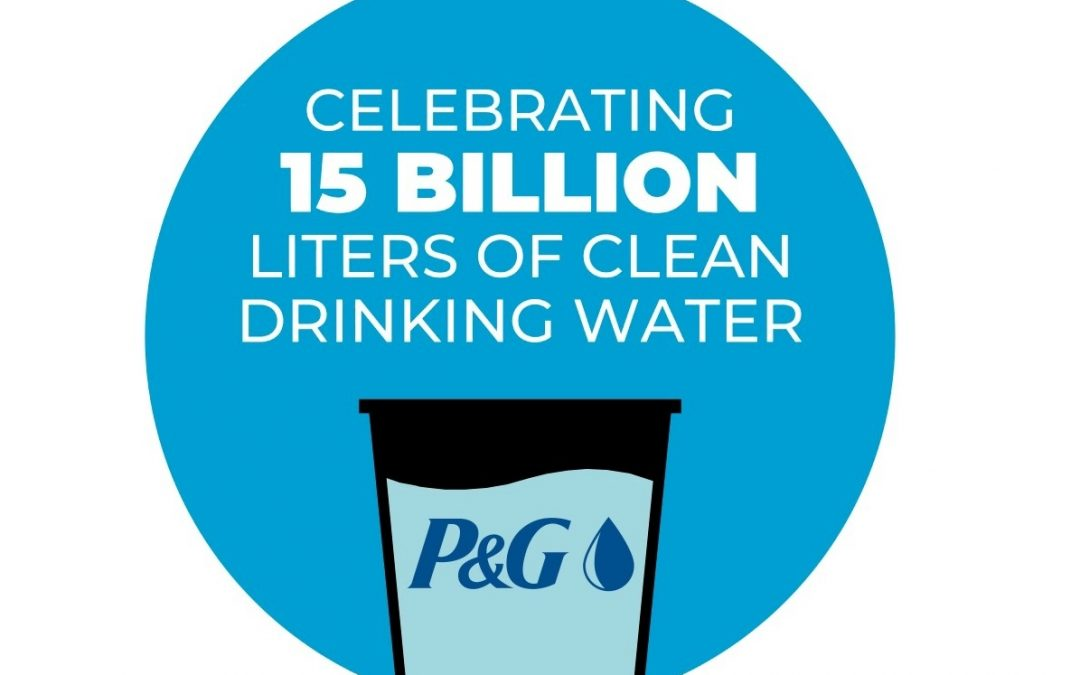 P&G: We'll deliver 25 billion liters of clean drinking water to families in need