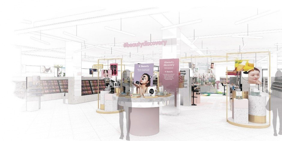 Boots unveils 'new and inspirational' beauty hall plans