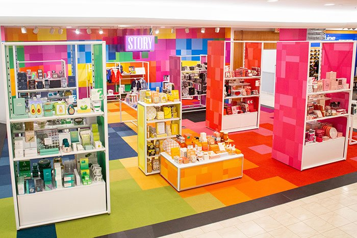 Story retail concept rolls out across Macy's stores in the U.S.