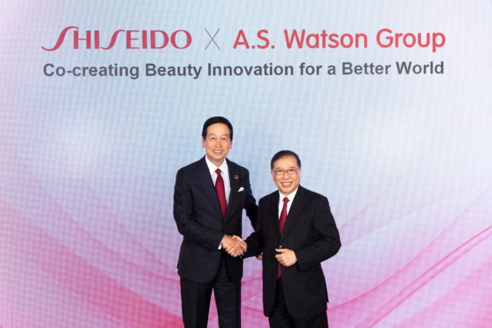 Shiseido and A.S. Watson strengthen alliance with three-year plan