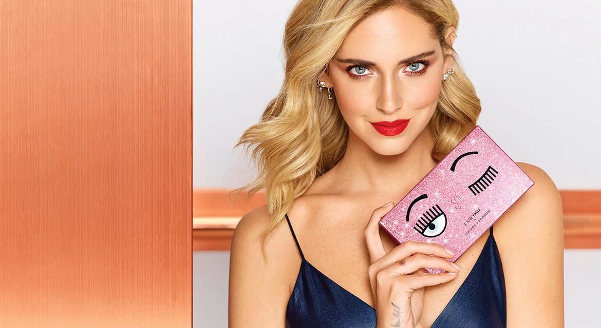 Chiara Ferragni joins forces with Lancôme to launch make-up capsule collection