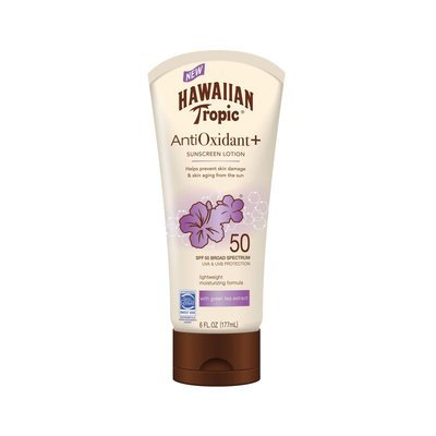 Hawaiian Tropic Antioxidant Sunscreen Lotion 50