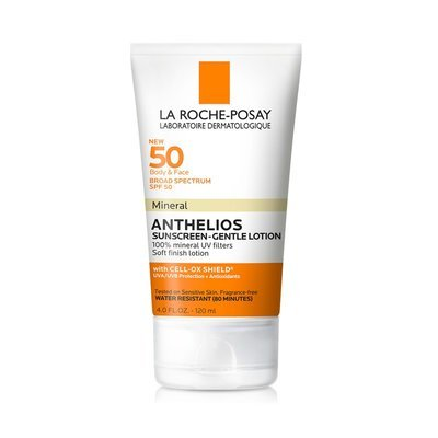 La Roche-Posay Anthelios SPF 50 Mineral Sunscreen Gentle Lotion