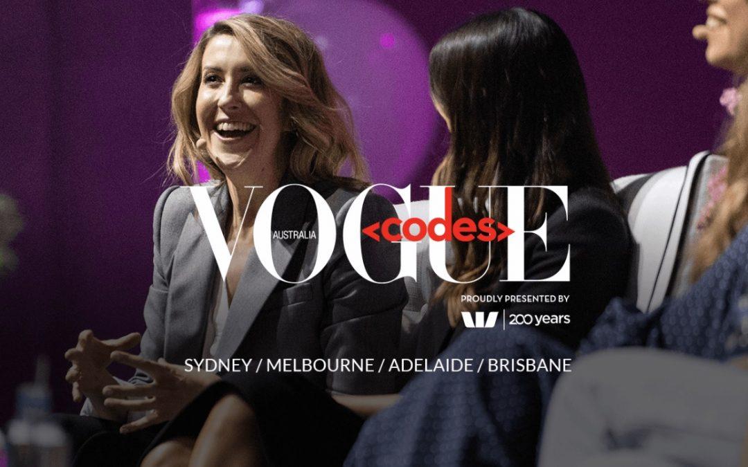 Vogue Australia announces Estee Lauder as partner for Vogue Codes 2019