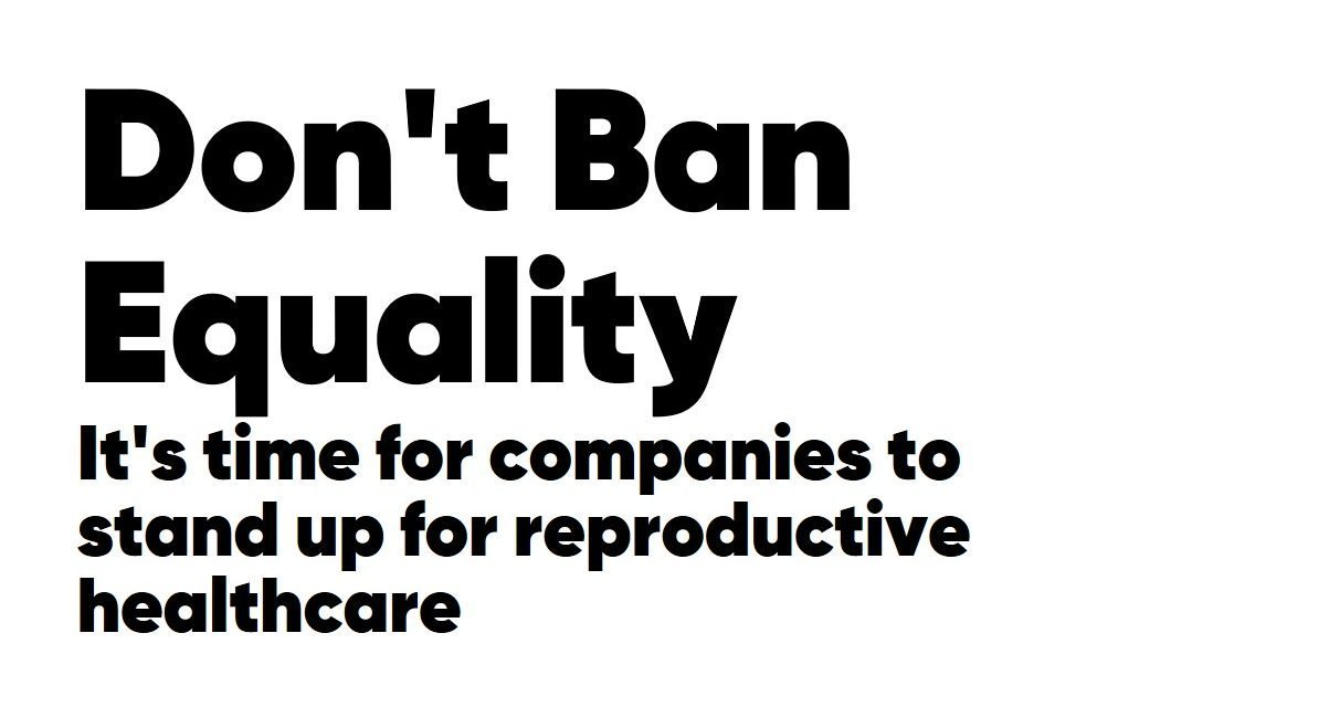MAC, The Body Shop, Birchbox and Glossier team up to protest state abortion bans