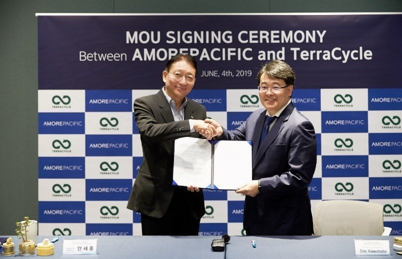 AmorePacific signs Memorandum of Understanding with TerraCycle